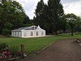 Tent met Transparant dak_