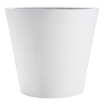Plantenvaas groot wit