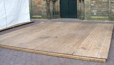 Vloer voor easy- pagode of alutent per mtr2