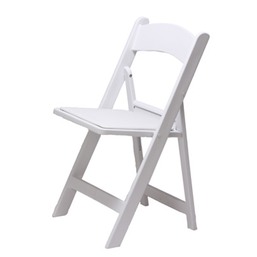 Witte klapstoelen huren (Weddingchair)