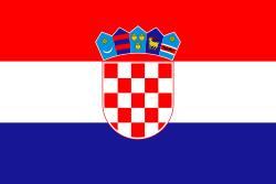 Vlag Kroatie