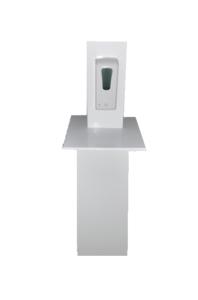Desinfectiezuil hoogglans wit (automatisch)