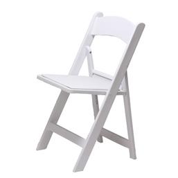 Witte klapstoelen huren (Weddingchair)