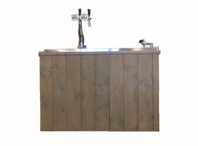 Bar steigerhout 150cm.